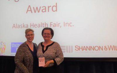 United Way Presents Alaska Health Fair with the Agency Impact Award!