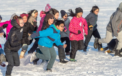 Watch Alaska kids get out and play in many ways and all kinds of weather