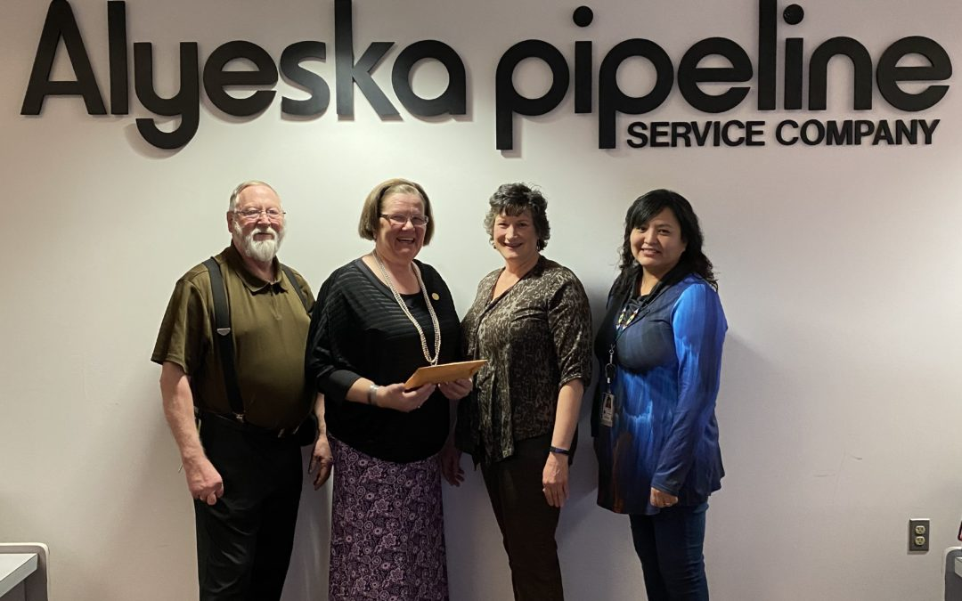 AHF Selected to be the Recipient of this Year's Alyeska Pipeline's Dessert Auction Proceeds